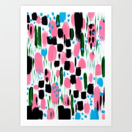 bright happy Art Print