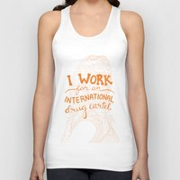 alex vause Tank Tops featuring Alex Vause by Charisse