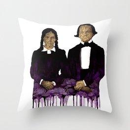 The extacy Throw Pillow
