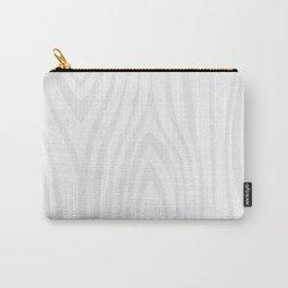 Wood background. White Wooden Slats  #society6 #decor #buyart #artprint Carry-All Pouch