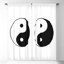 Yin Yang Taijitu Symbol Blackout Curtain