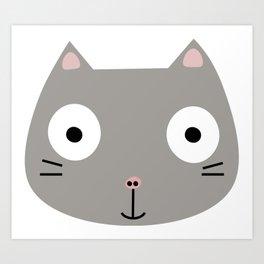 cat-astrophic Art Print