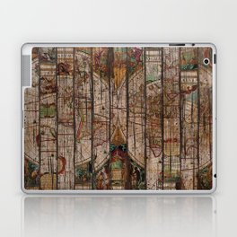 Encrypted Map Laptop & iPad Skin
