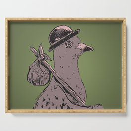 Hobo Pigeon Serving Tray