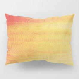 Color Burst - Sunset Ring Pillow Sham