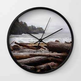Cape Disappointment Wall Clock