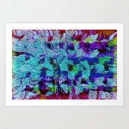Coming Apart Art Print
