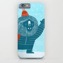 Snow Yeah iPhone Case