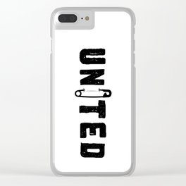UNITED Clear iPhone Case