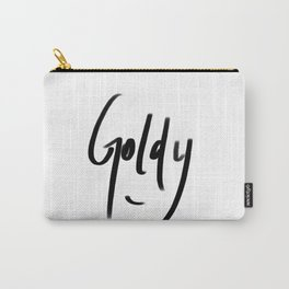 goldy typography Carry-All Pouch