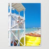 italy Canvas Prints featuring Italy by Sébastien BOUVIER