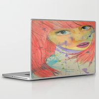 allison argent Laptop & iPad Skins featuring Allison by Taylor Starnes