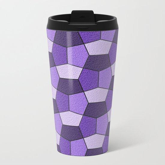 Geometrix VII Metal Travel Mug