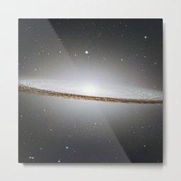 Sombrero Galaxy Metal Print