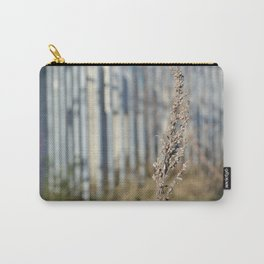 Urban Flower - City Lavender Plant Botanical Floral Photography Carry-All Pouch