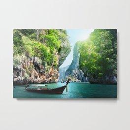 Krabi, Thailand Metal Print