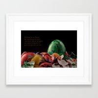 easter Framed Art Prints featuring Easter by Karl-Heinz Lüpke