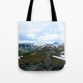 Down the Fjord Tote Bag
