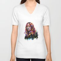 jared leto V-neck T-shirts featuring Jared Leto by ururuty