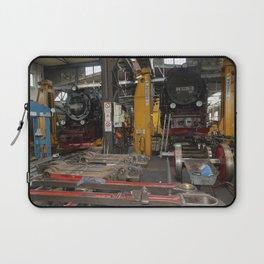 Disassembled steam locomotive Laptop Sleeve