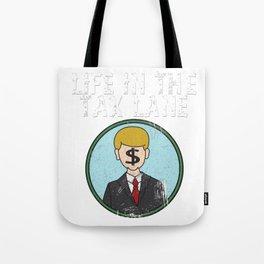 Awesome & Trendy Tshirt Designs Accountant Tax Lave Tote Bag