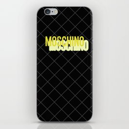 MOSCHINO Quilted Bag iPhone Skin