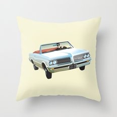 Ocean Drive Throw Pillow