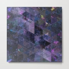 Abstract Geometric Background #21 Metal Print
