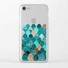 REALLY MERMAID Clear iPhone Case