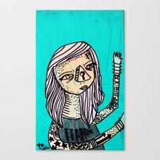 Fearless_Key Canvas Print