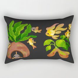 Fresh water fish and plants 2 Rectangular Pillow