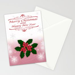 christmas greeting card Stationery Cards