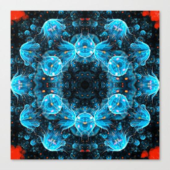 Deep Sea Mandala Canvas Print