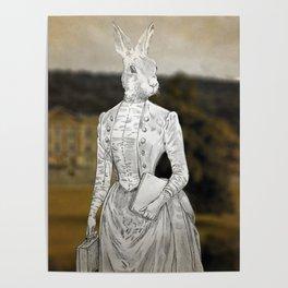 Miss Lagomorph Poster