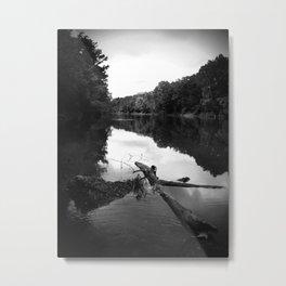 floating still Metal Print