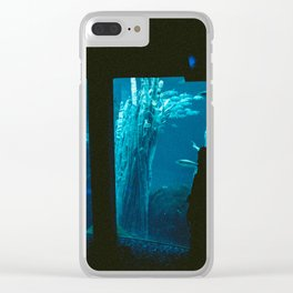 Quiet Hapiness Clear iPhone Case
