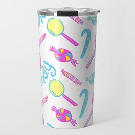 Candy Pop Pattern Travel Mug