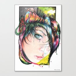 Mind Pollution Canvas Print