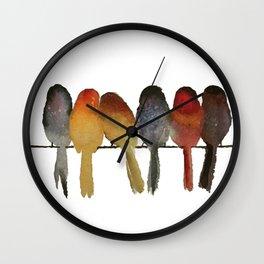 Birds song... Wall Clock