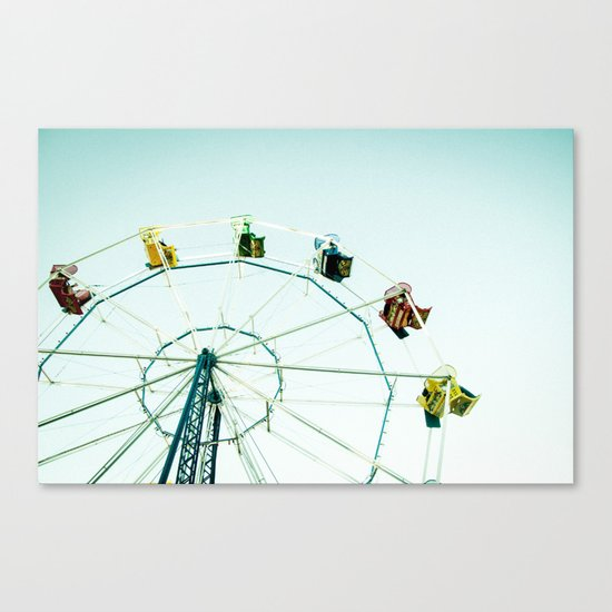 Green Bay Ferris Wheel Canvas Print