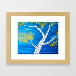 Aspen Swirl Framed Art Print
