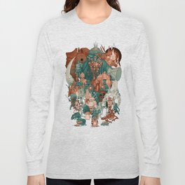 Dark Souls Gang Long Sleeve T-shirt