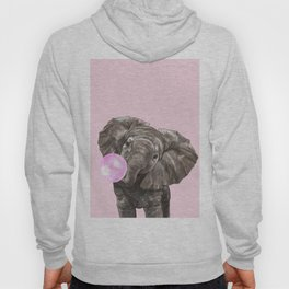 Baby Elephant Blowing Bubble Gum Hoody