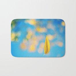 Yellow & blue Bath Mat