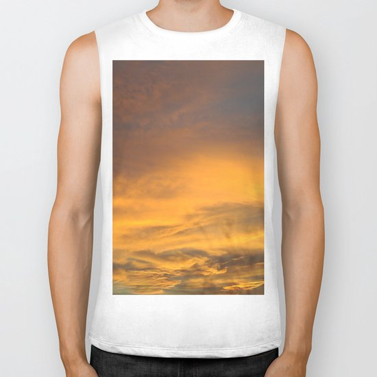 COME AWAY WITH ME - Autumn Sunset #2 #art #society6 Biker Tank