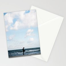 It's been cloudy since you went away Stationery Cards