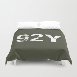 92Y Unit Supply Specialist Duvet Cover