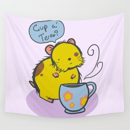 Cup a' Tea? Wall Tapestry