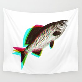 fish + fish + fish Wall Tapestry