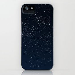 Stars in Space iPhone Case